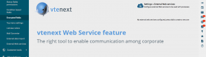 web service feature crm