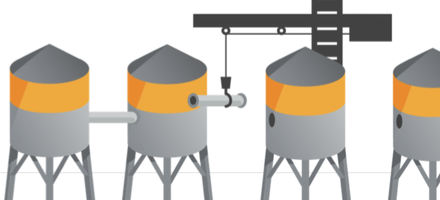 sistema crm silos aziendali